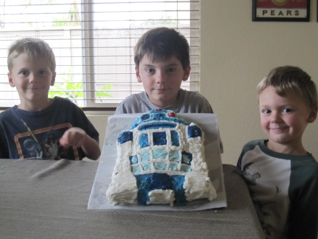 Star Wars Cake from Nana