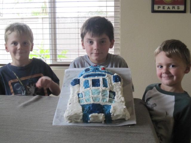 Star Wars Cake from Nana